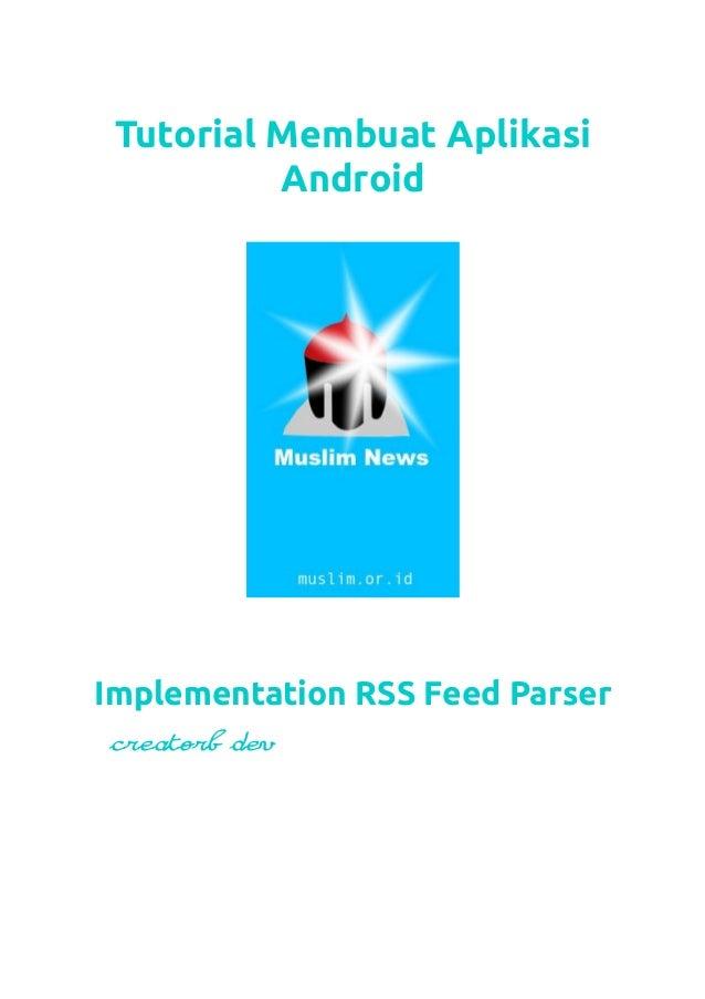 Tutorial Cara Membuat Aplikasi RSS Android - creatorb
