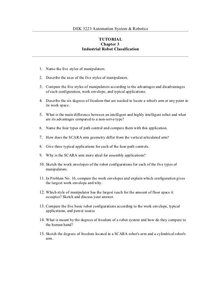 Tutorial chapter 3 robotic