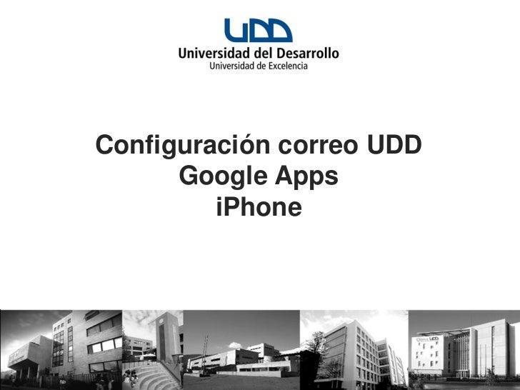 Tutorial para configurar google apps en iphone