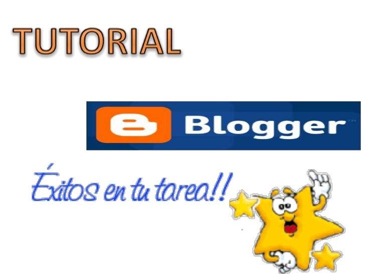 Tutorial creación de un blog