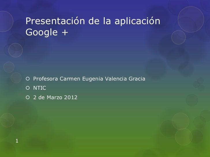 Tutorial de google+corto