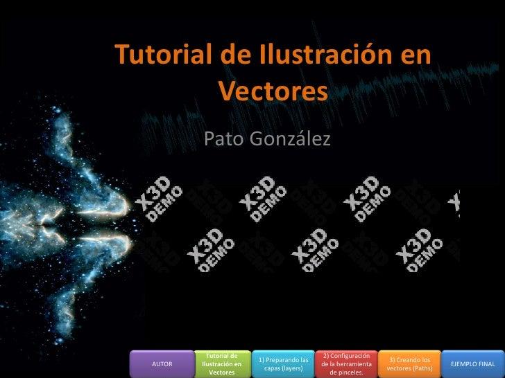 Tutorial de ilustración en vectores