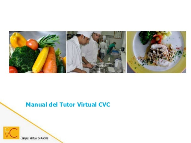 Manual del Tutor Virtual CVC