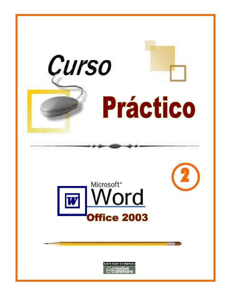 Tutorial  De Ms Word 2003