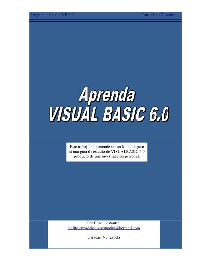 vb net basic tutorial pdf