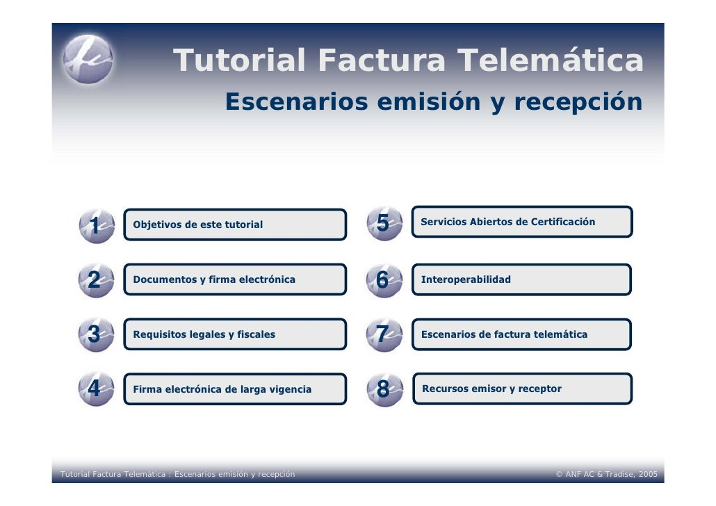 Tutorial factura telematica