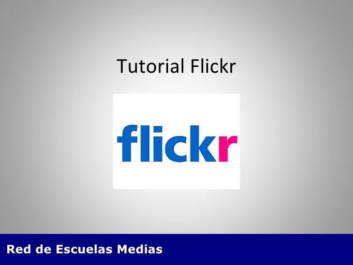 Tutorial Flickr
