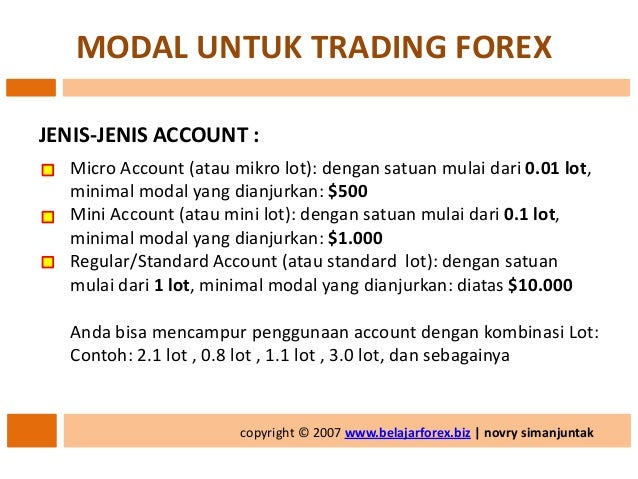 Dummy account for forex trading