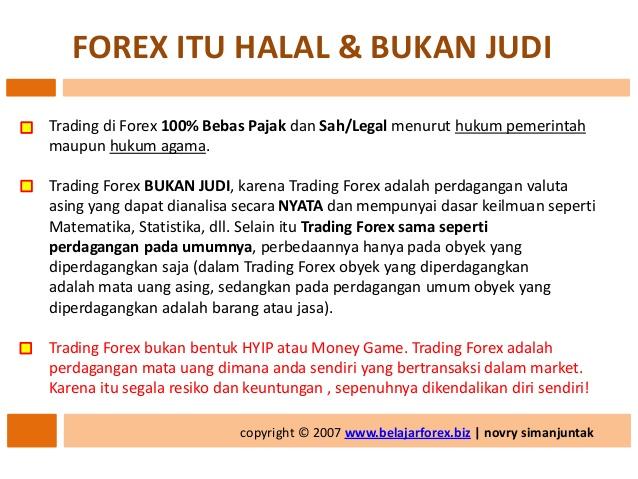 Hukum trading forex di indonesia