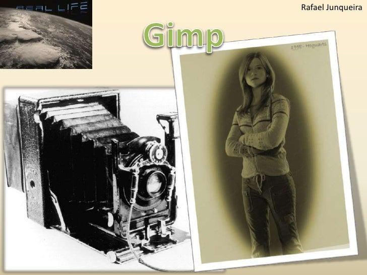 Gimp 2.6.7 - Efeito Old Photo