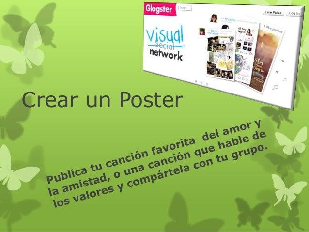 Crear un Poster