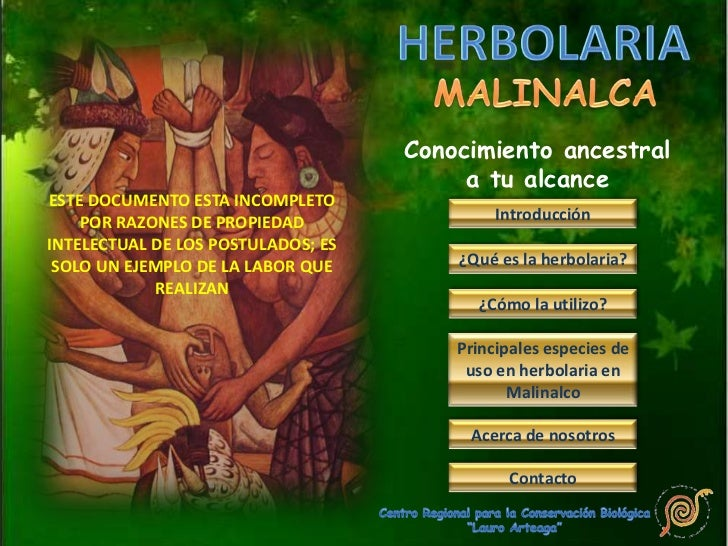 Tutorial herbolaria