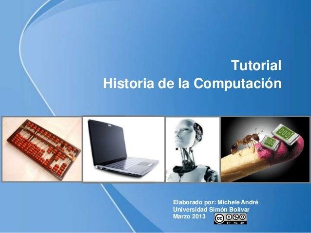 Tutorial historia de la computacion - photo#8