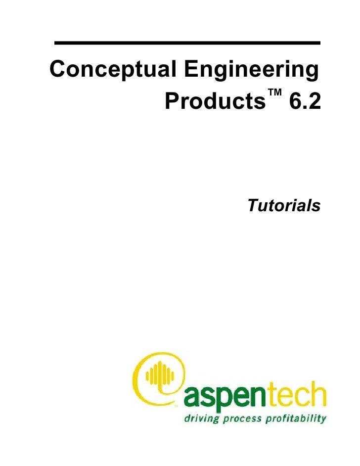 Conceptual Engineering         Products™ 6.2               Tutorials