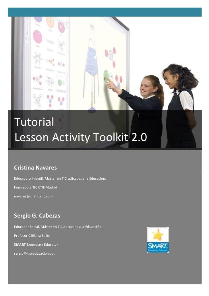 Tutorial Lesson Activity Toolkit 2.0