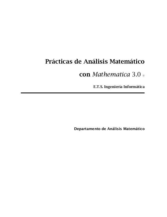 Tutorial mathematica