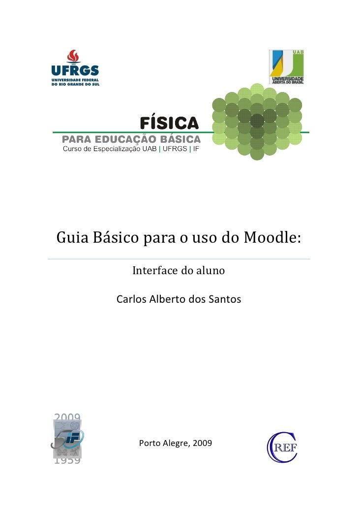 Tutorial Moodle IF - UFRGS 2009