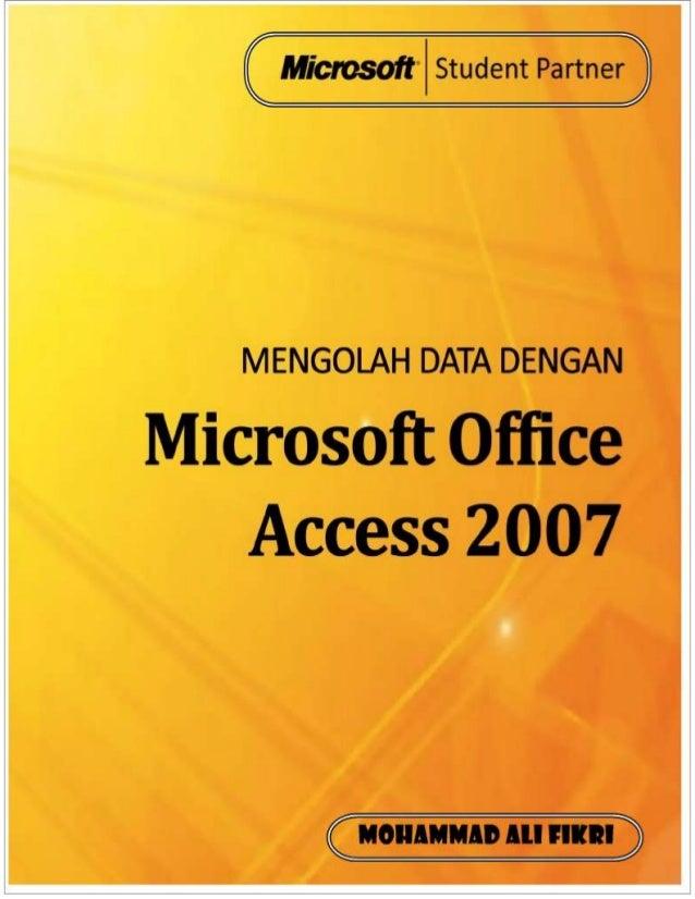 Panduan Ms access 2007 lengkap