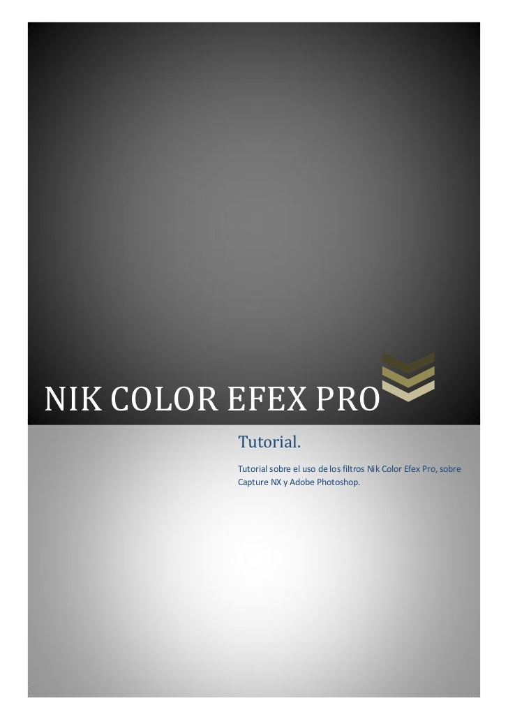 Tutorial nik color efex pro