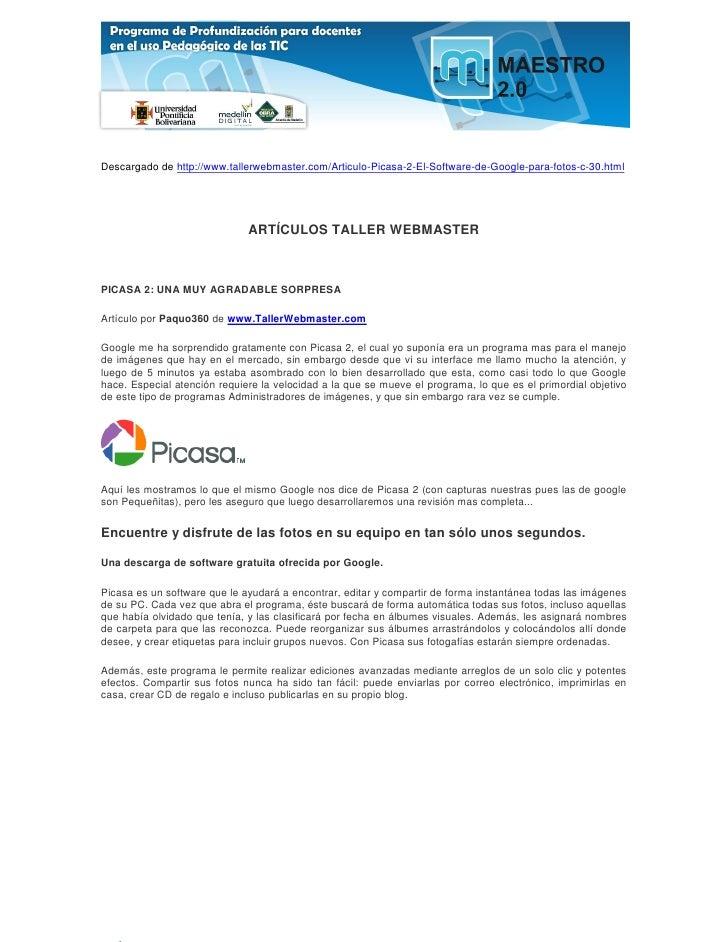 Descargado de http://www.tallerwebmaster.com/Articulo-Picasa-2-El-Software-de-Google-para-fotos-c-30.html                 ...
