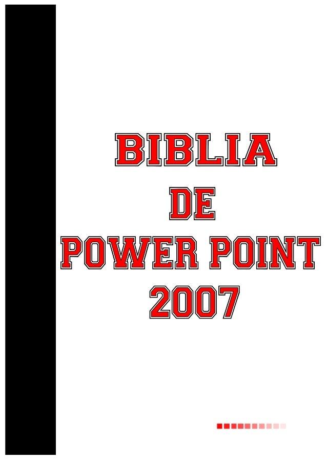 Tutorial power point 2007.