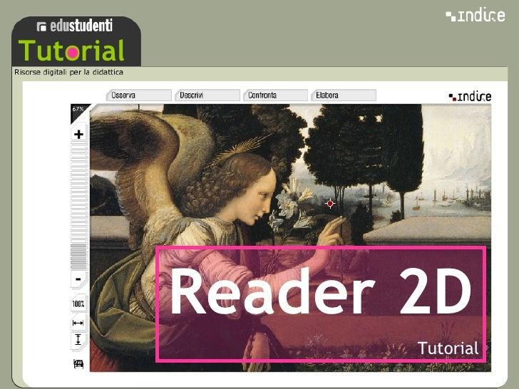 sss Tutorial Reader 2D Tutorial