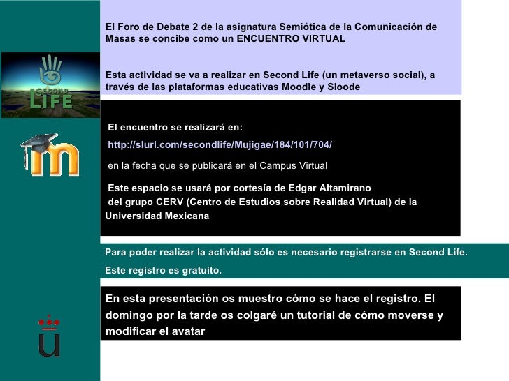 Tutorial Registro Second Life