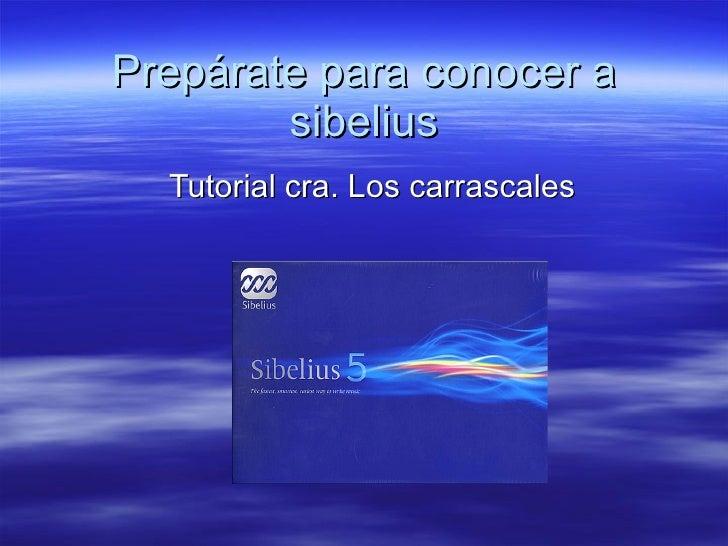 Tutorial Sibelius 1