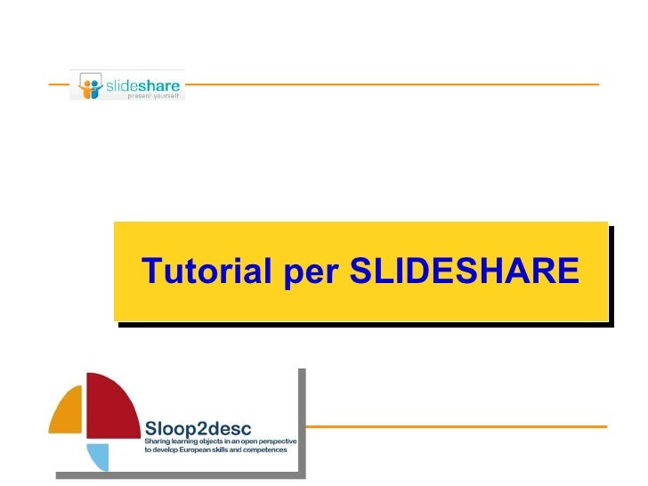 Tutorial per SLIDESHARE