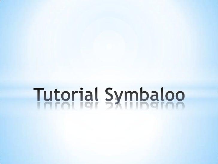Tutorial symbaloo