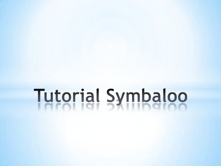 Tutorial Symbaloo<br />