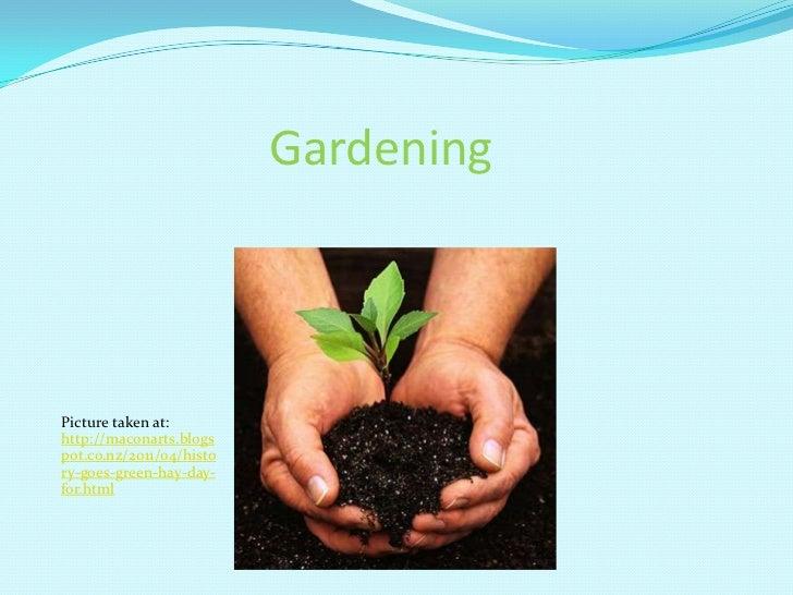 Tutorial two   gardening p.i.o.