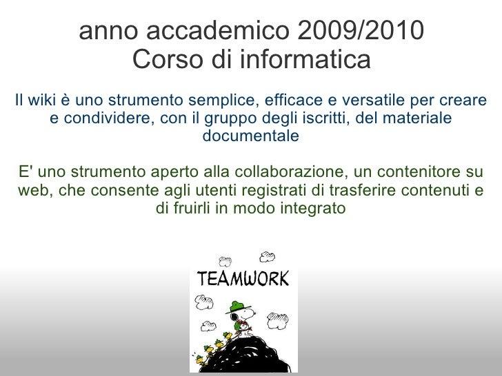 Tutorial wikispaces
