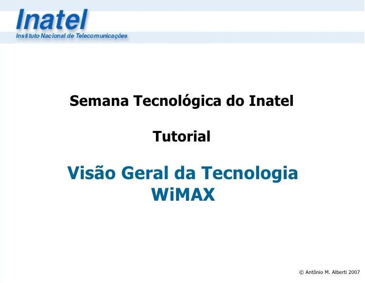 Tutorial WiMAX