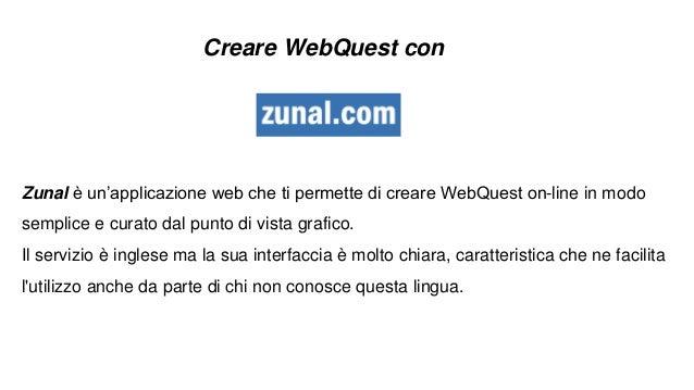Come creare una WebQuest con Zunal