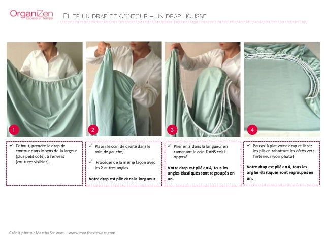 tutoriel organizen plier drap housse nappe