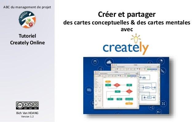 ABC du management de projet Bich Van HOANG Version 1.2 Tutoriel Creately Online Créer et partager des cartes conceptuelles...