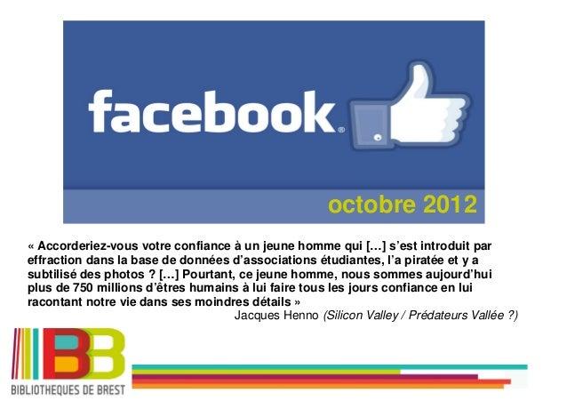 Tutoriel Facebook