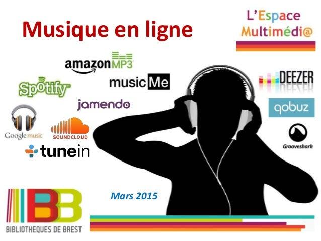 Musique en ligne Mars 2015