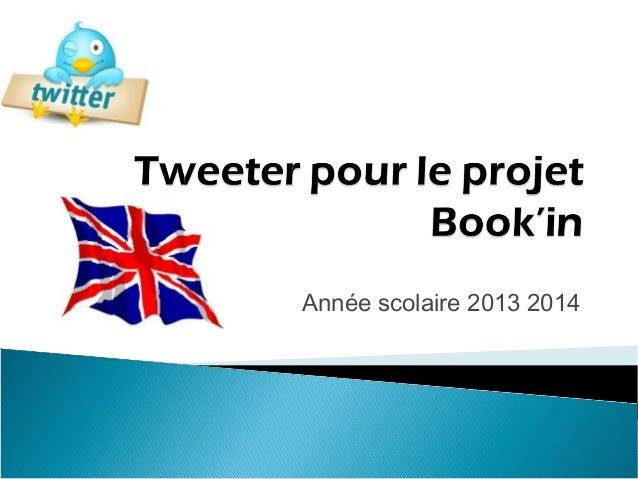 Tutoriel tweeter pour_le_projet_book_in