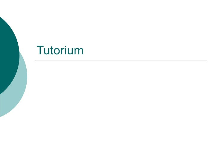 Tutorium
