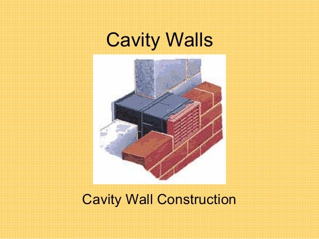 Cavity Wall Construction : Tutor l cavity wall construction