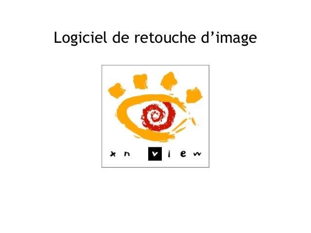 Logiciel de retouche d'image
