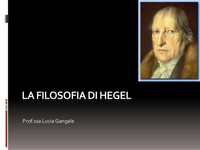 Prof.ssa Lucia Gangale