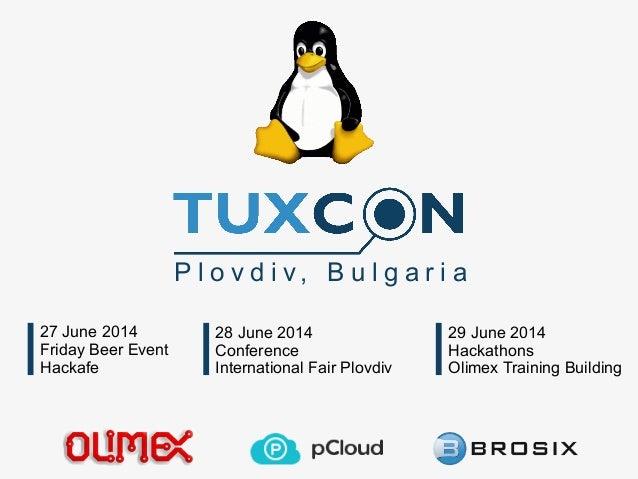 TuxCon 2014