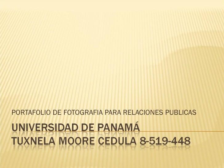 PORTAFOLIO DE FOTOGRAFIA PARA RELACIONES PUBLICAS