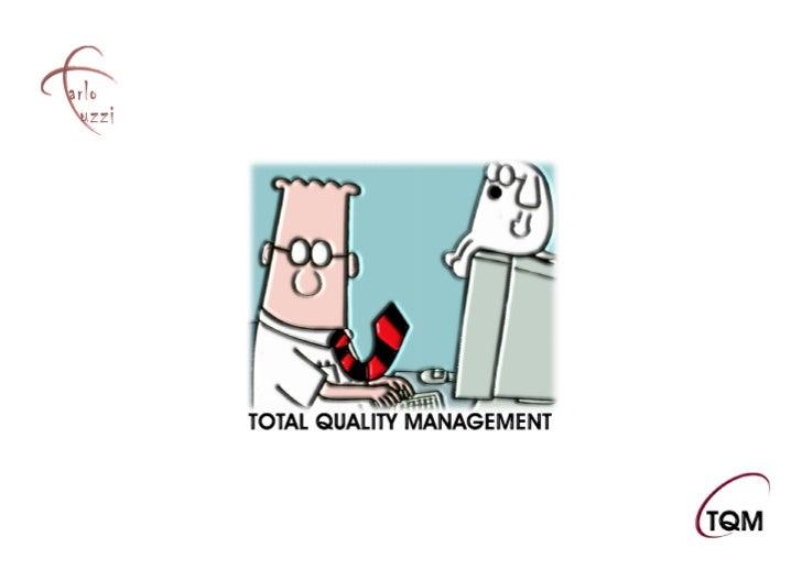 Tuzzi total quality management it