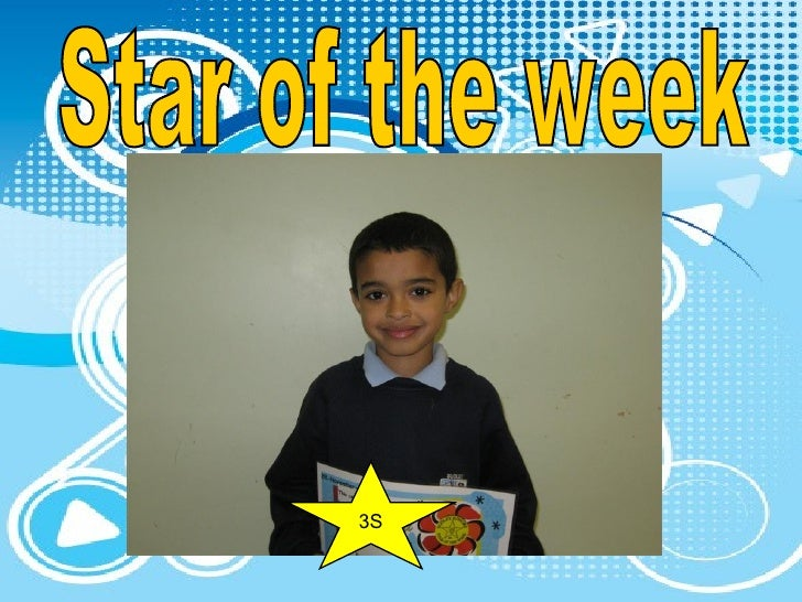 Star of the week 3S
