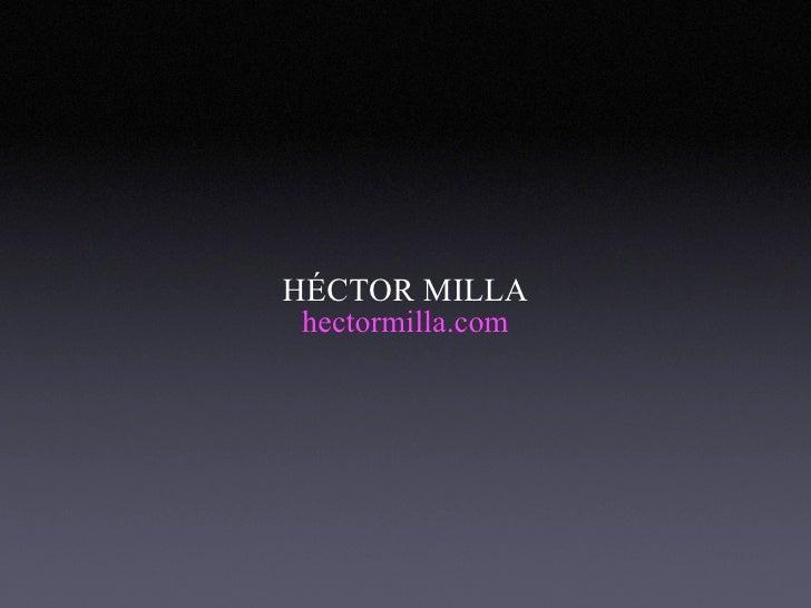 Tv2.0 Hector Milla