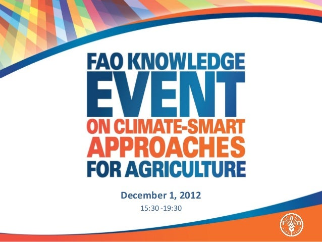 December 1, 2012   15:30 -19:30